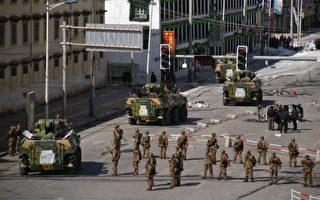 組圖:拉薩藏人抗議 中共血腥鎮壓