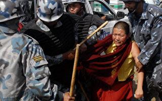 組圖:尼泊爾拘捕約四百西藏抗議人士
