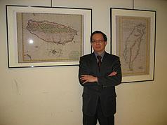芝加哥侨教中心举办台湾古地图系列展