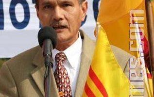 全美越裔聯盟主席:千人乘車援人權聖火