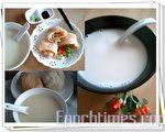 豆浆营养价值高(摄影:杨美琴/大纪元)
