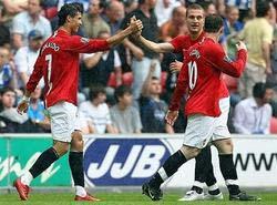 英超足球  曼聯第十七度贏得超級杯冠軍