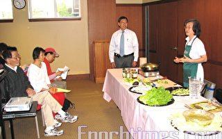 李麗珠示範健康素食烹飪