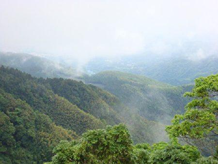 新诗:雨后山境