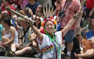 組圖:各族裔同慶美國獨立日