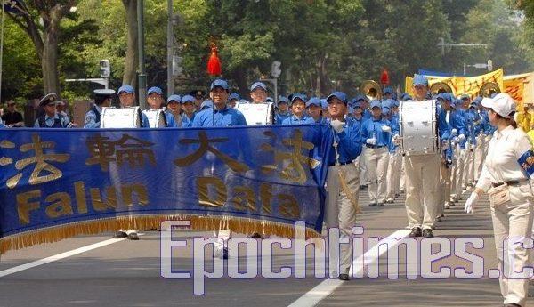八國首腦會議前 法輪功成札幌焦點