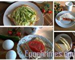 当土司涂上沙拉夹着番茄,就是一种绝妙风味!(杨美琴摄影∕大纪元)