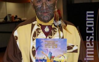 新西蘭毛利族世襲酋長:我的靈魂和法輪功學員在一起