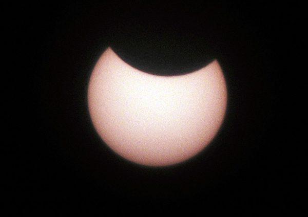 日蝕。(Getty Image)