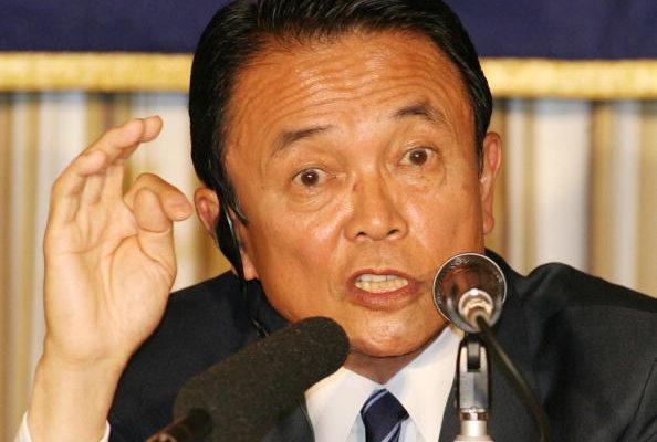 麻生太郎納粹說 惹惱在野黨