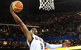 組圖:美國夢八隊與中國男籃精彩瞬間