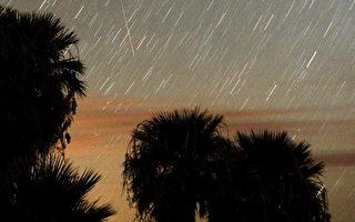 組圖:美國英仙座流星雨劃過夜空