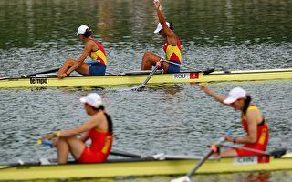 女子组各项划船赛 得奖队伍