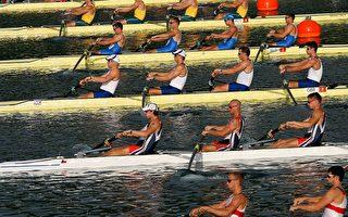 男子组各项划船赛  得奖队伍