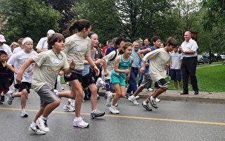 民众踊跃参加福克斯跑