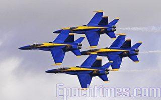 组图:南加州航空展精彩图片