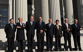 工業七國集團宣布對付金融危機計畫
