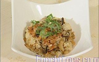 【厨娘香Q秀】绿茶香菇油饭