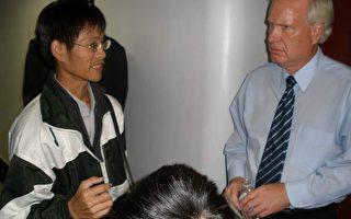 台湾人见证中共帮凶在法拉盛的丑行