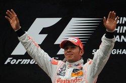 F1上海大奖赛 汉米尔顿称王
