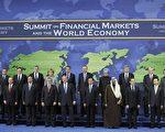 來自世界各地20個發展中國家和發達國家以及歐盟的領導人星期六在華盛頓達成協議。(MICHAEL GOTTSCHALK/AFP/Getty Images)