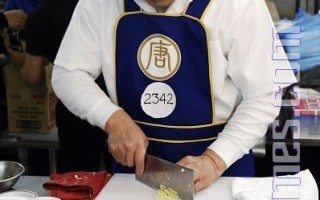 組圖:中國菜廚技大賽——東北菜選手競技