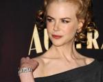 妮可·基德曼(Nicole Kidman)出席影片《澳大利亚》(Australia)的记者会。(图/Getty Images)