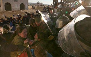 組圖:以軍強制驅逐西岸非法猶太定居者