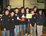 Landroids队获得机器人演示首奖。(大纪元资料)