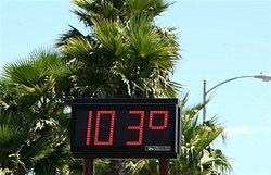 研究人员发表美国天灾死亡地图  热浪最致命