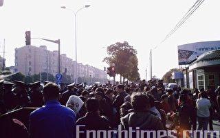 「良宇」工程圈地萬畝 滬農民抗議示威