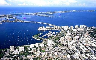 佛州薩拉索塔列入美國前20最宜居城市