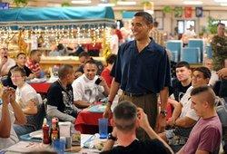 民調:奧巴馬是最令人欣賞的美國男性