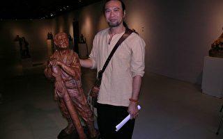 李宗霖鄉情傳說木雕巡迴展