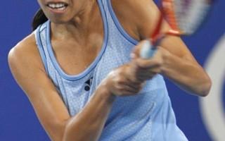 霍普曼盃網球賽中法女子單打 謝淑薇落敗