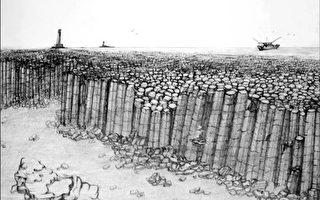 澎湖海底现世界首见庞大柱状玄武岩