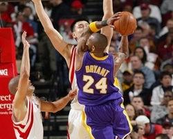 NBA 布萊恩飆進致勝3分 湖人氣走火箭
