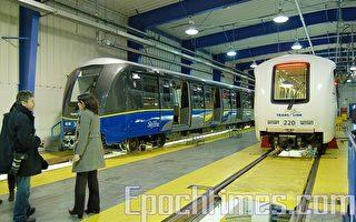 48新捷運車廂將陸續抵達溫哥華