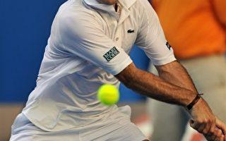 澳網男單第三輪 法國老將聖塔荷不敵羅迪克