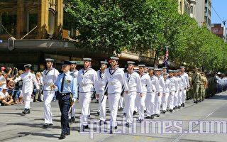 組圖:墨爾本澳洲國慶日盛裝遊行