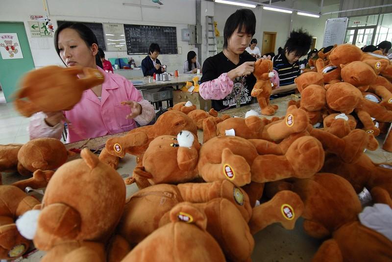權益組織曝光大陸玩具廠存在大量侵權行為