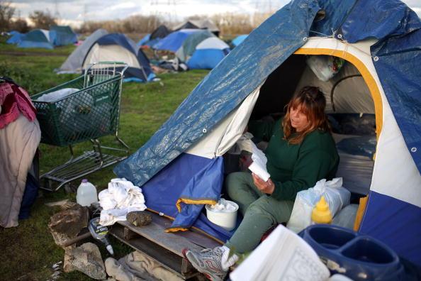 经济恶化 加州游民人口增加