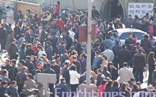 河北保定数千工人连续七天围厂大罢工