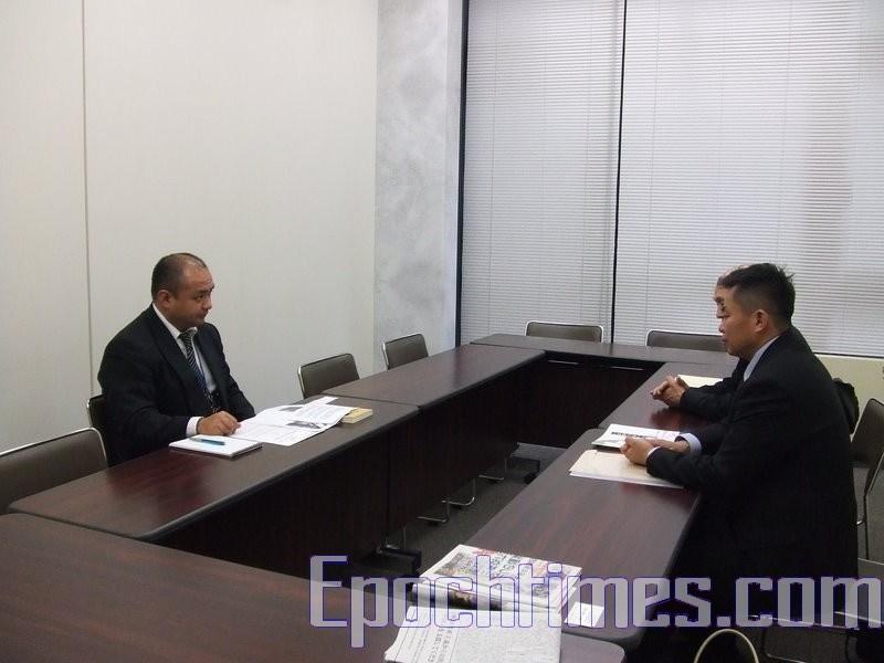 日本外務省人員:了解中國大陸三退報導