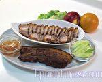 咸猪肉(摄影:祝大姐/大纪元)