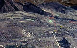 组图:福卫二号拍摄北韩运载火箭相片