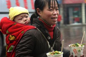 中國需救助的貧困母親達900多萬