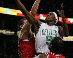 NBA 塞爾蒂克亞倫三分球擊敗公牛