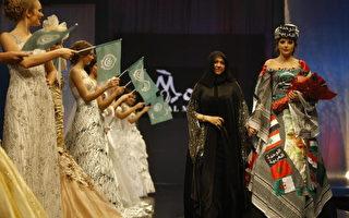 組圖:黎巴嫩婚慶時裝展