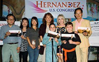 竞选国会众议员 贺丽莎争取华人选票